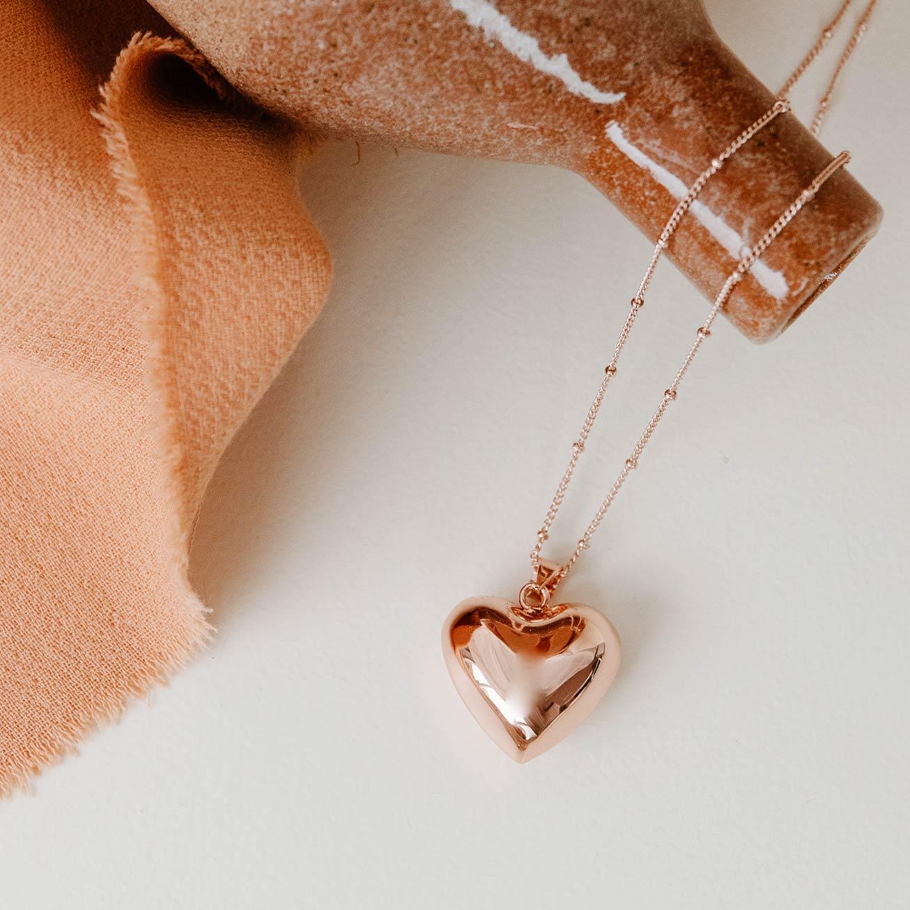 Bola de grossesse Coeur cuivre