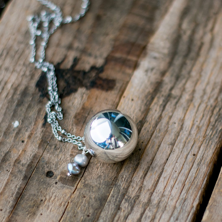 Bola de grossesse perles