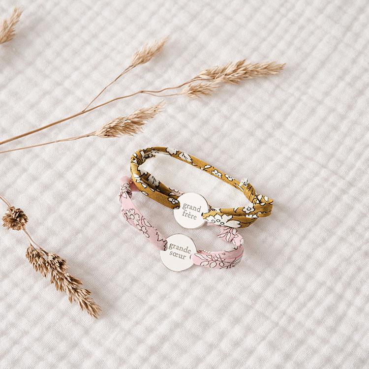 Bracelet Grand Soeur / Frère  - Le petit bola