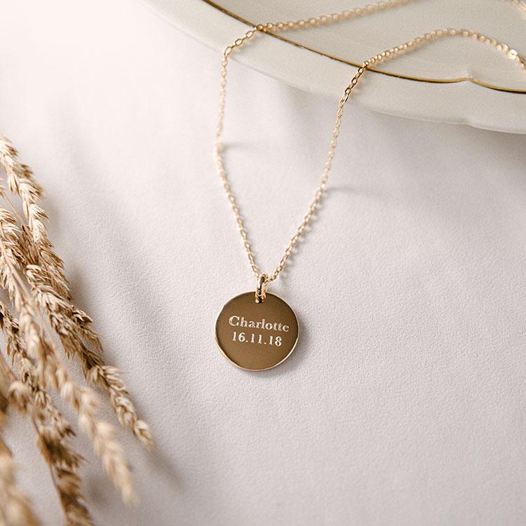 Médaille bombée or Maume
