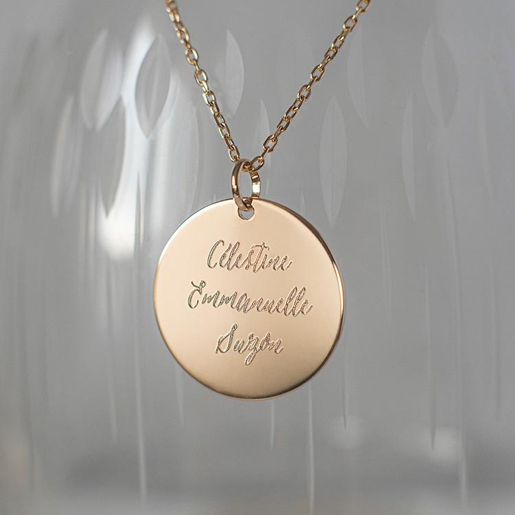 Médaille personnalisée Carène