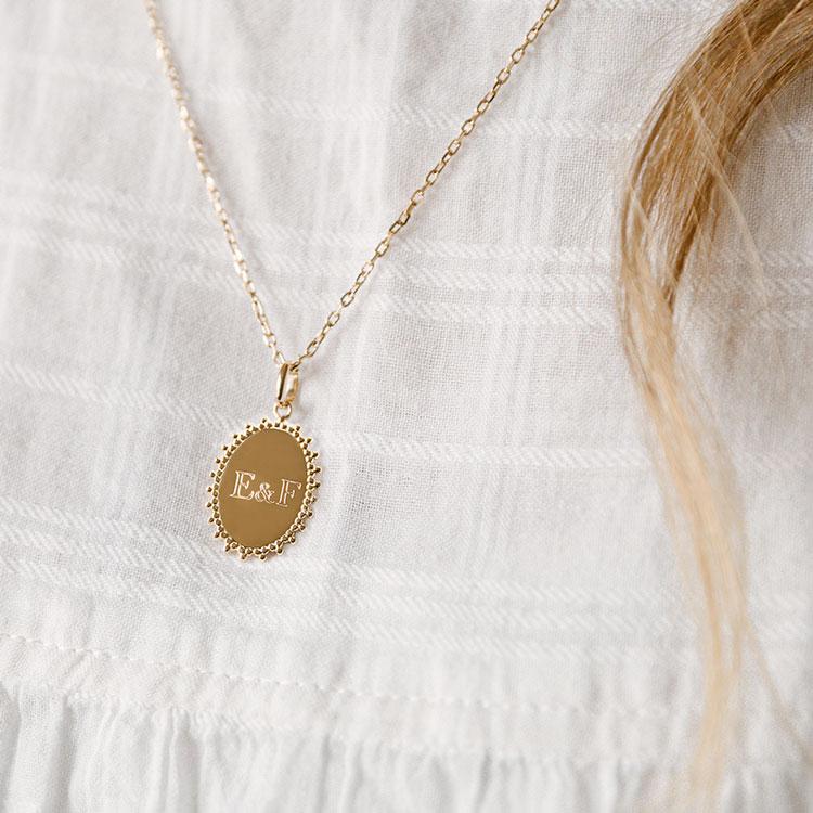 Médaille personnalisée Adèle