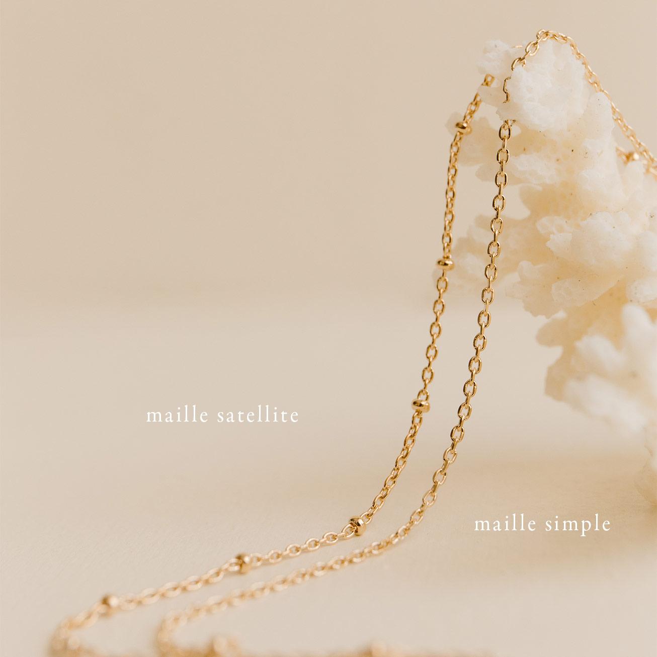 Médaille prénoms soleil Camille