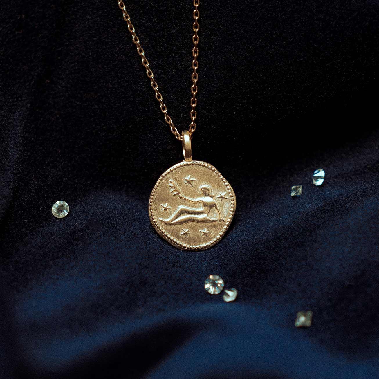 Collier signe zodiaque Vierge