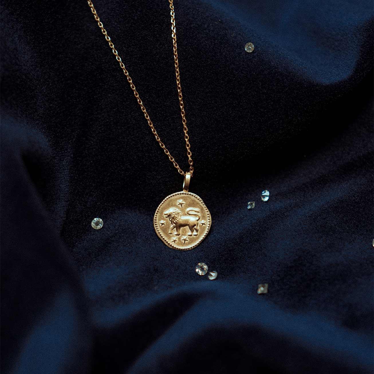 Collier astrologique Lion