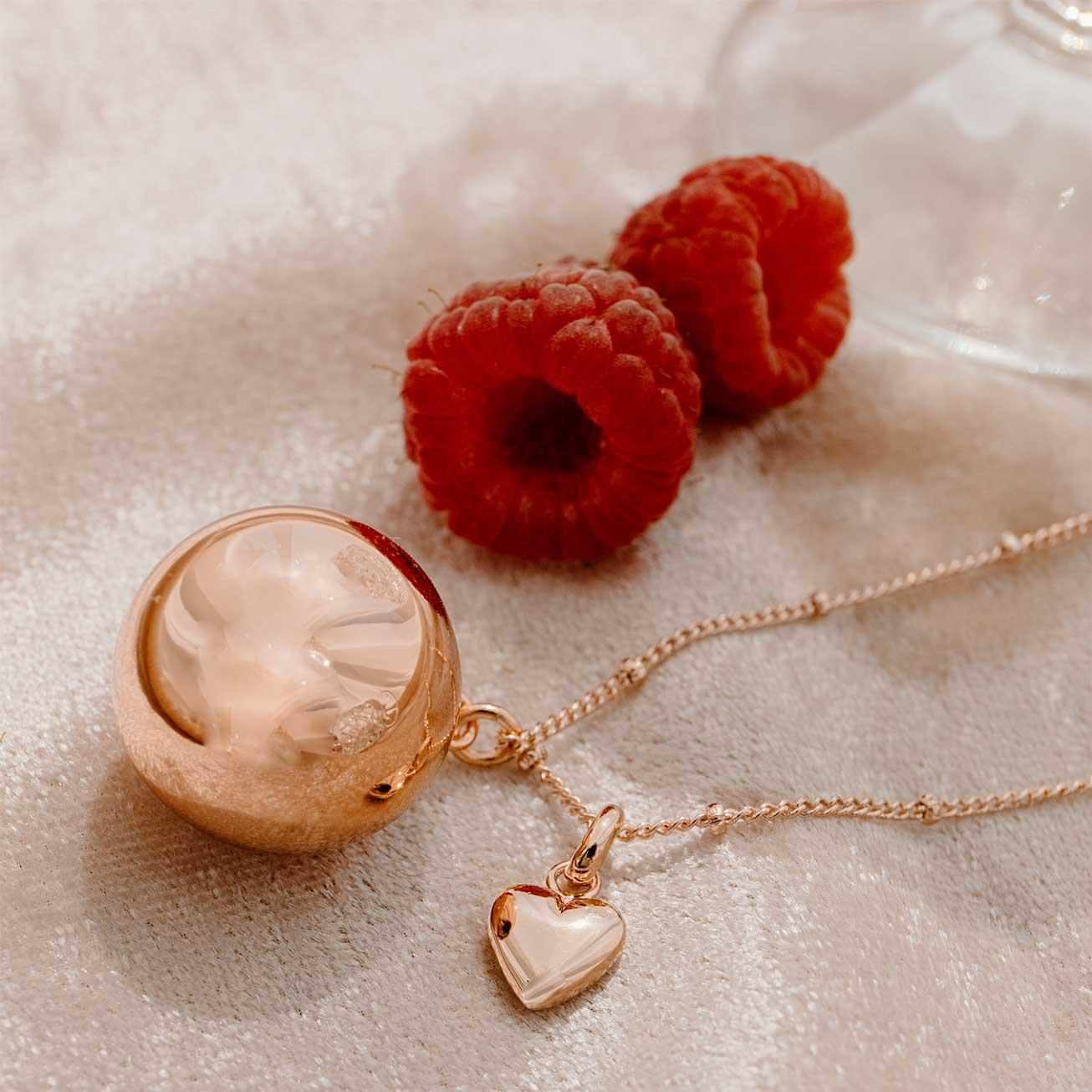 Bola Coeur de Marie Or rose