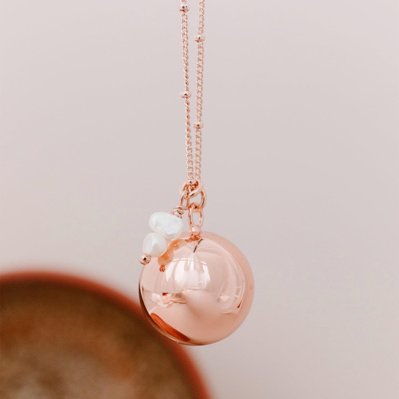 Bola de grossesse Alba rose
