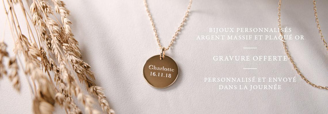 Colliers et bijoux personnalisés