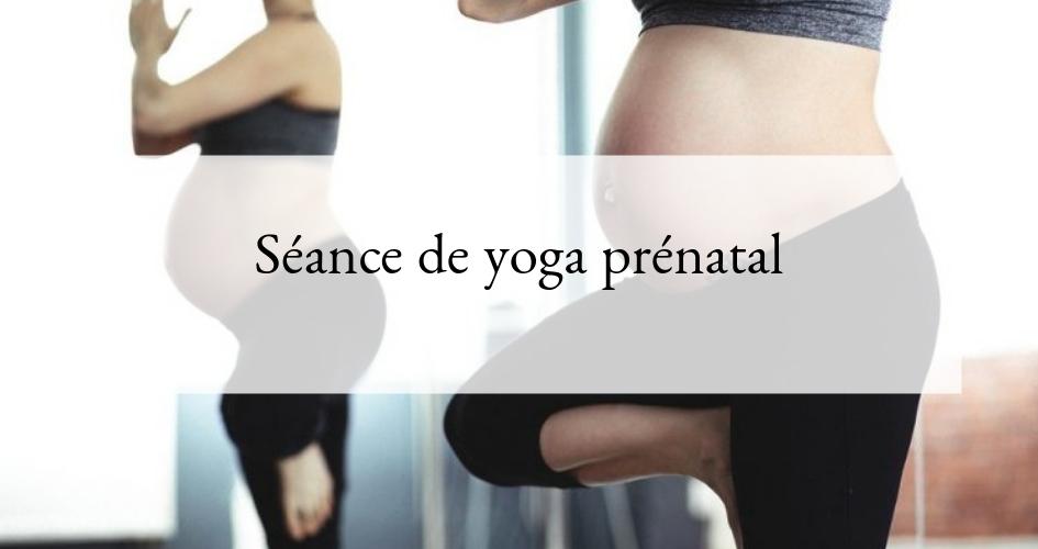 Cadeau grossesse : yoga prénatal
