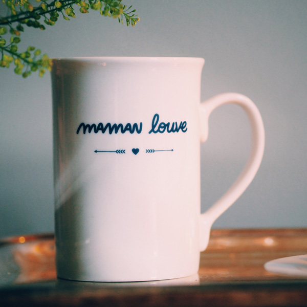 mug maman louve